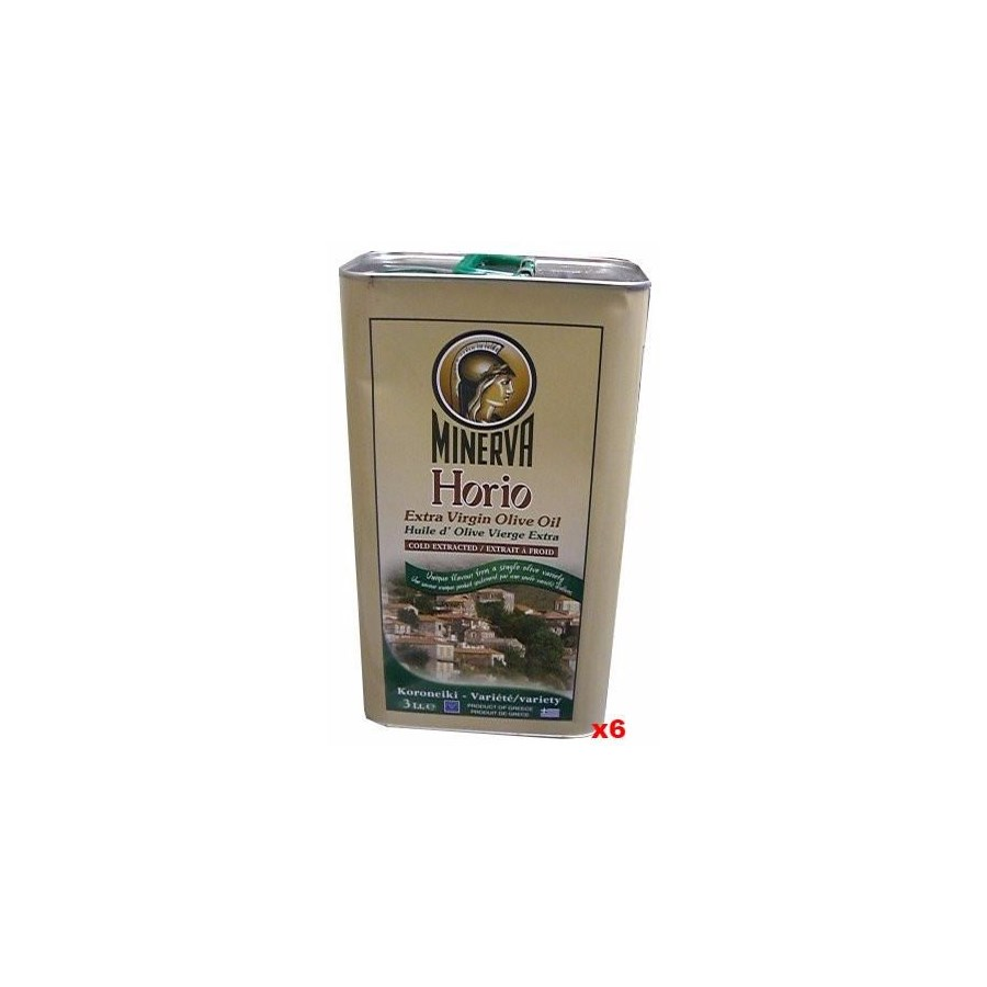 HORIO Extra Virgin Olive Oil 6/3 ltr tins