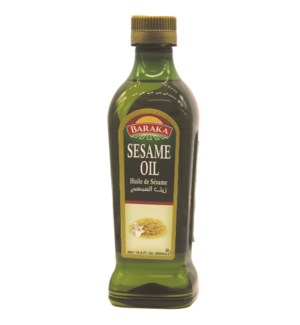 "Sesame Oil ""BARAKA"" 500 ML * 6"
