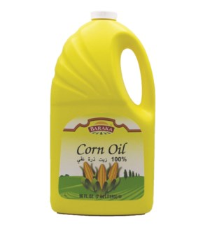 "Corn OIL ""BARAKA"" 96 Fl oz * 6"
