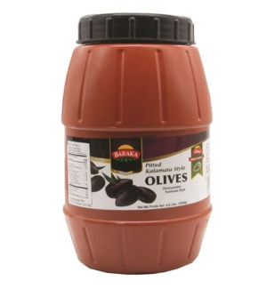 "Olives Extra Large Pitted Kalamata ""Baraka""  Style"