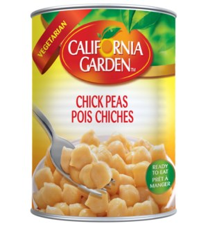 California Garden Canned Chickpeas 400 g x 24