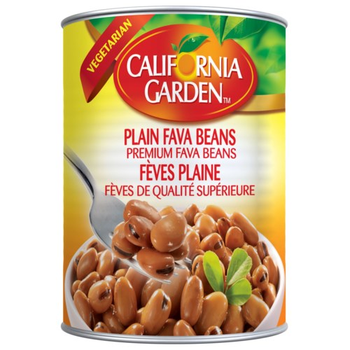 "Fava Beans- Plain ""CALIFORNIA GARDEN"" 16 oz x 24"