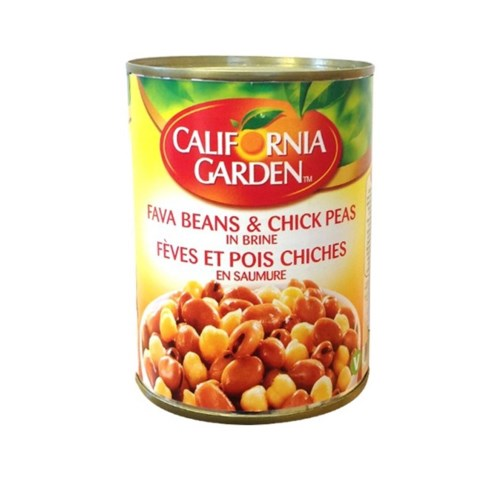 "Fava Beans- Chickpeas Recipe ""CALIFORNIA GARDEN"" 1"