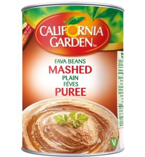 "Fava Beans- Mashed Flavored ""CALIFORNIA GARDEN"" 16"