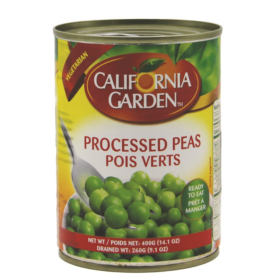 "Green Peas canned ""California Garden"" 400g x 24"