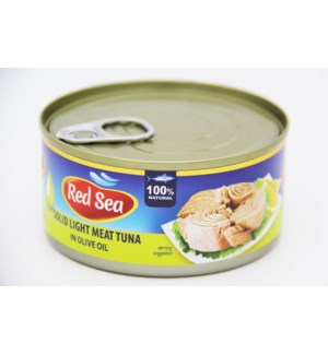 "Tuna Canned Solid in olive oil ""Red Sea"" 185g * 48"