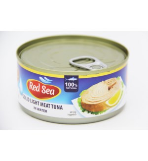 "Tuna Canned Solid  in water ""Red Sea"" 185 * 48"