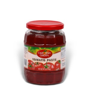 "Tomato Paste Jar ""California Garden"" 700g  x 12"