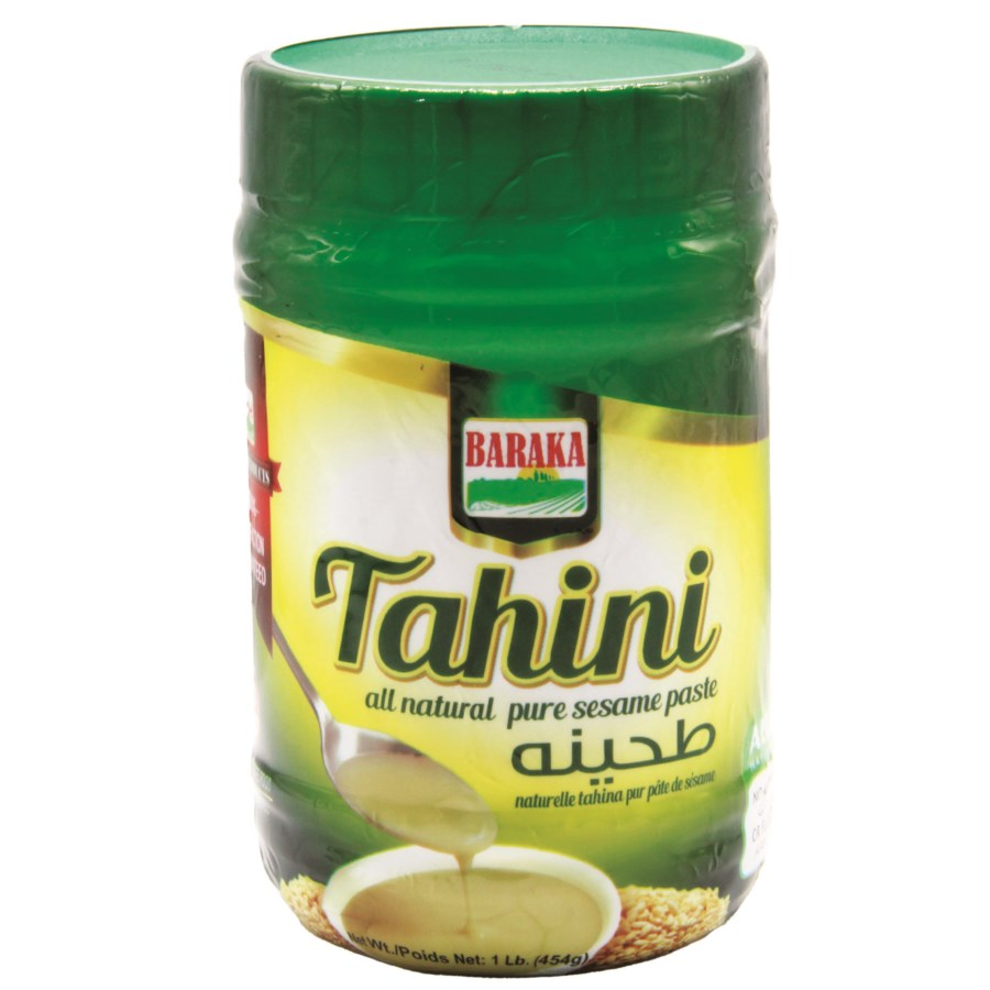 "Tahini (Sesame paste) in plastic tub  ""BARAKA"" 1 L"