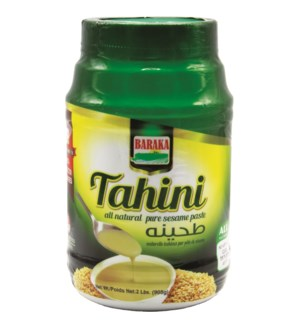"Tahini ""Sesame paste in plastic tub "" ""BARAKA"" 2 L"