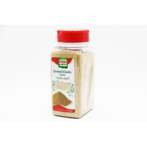"Ground Cumin Spice in plastic tub ""Baraka""  7oz *"