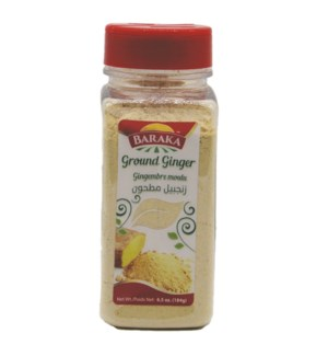 "Ground Ginger Spices in plastic tub ""Baraka"" packe"