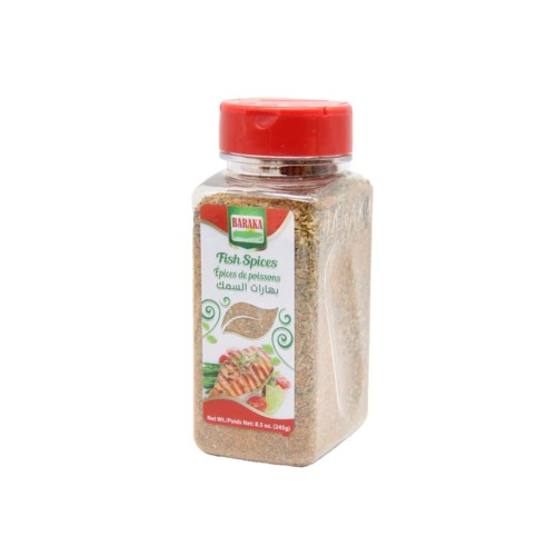 "Fish Spice in plastic tub ""Baraka""  8 oz * 10"