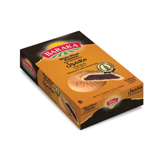 "WHOLE WHEAT Maamoul ""BARAKA"" 480 g * 16"