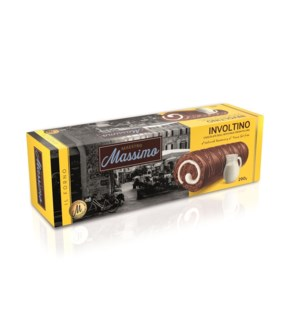 Involtino Roll Cake Chocolate MAESTRO MASSIMO 290g