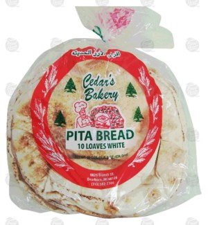 Cedar's Bakery Bread White 524g x25