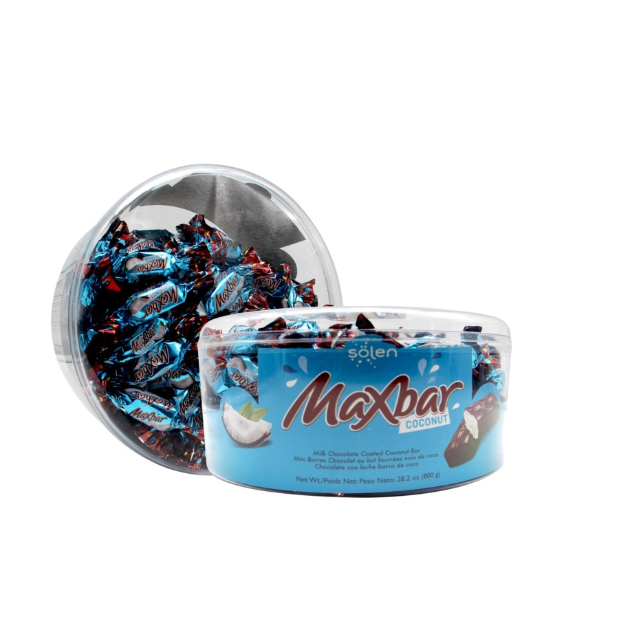 "Maxbar Coconut Mini Bar ""Solen"" 800g * 4"