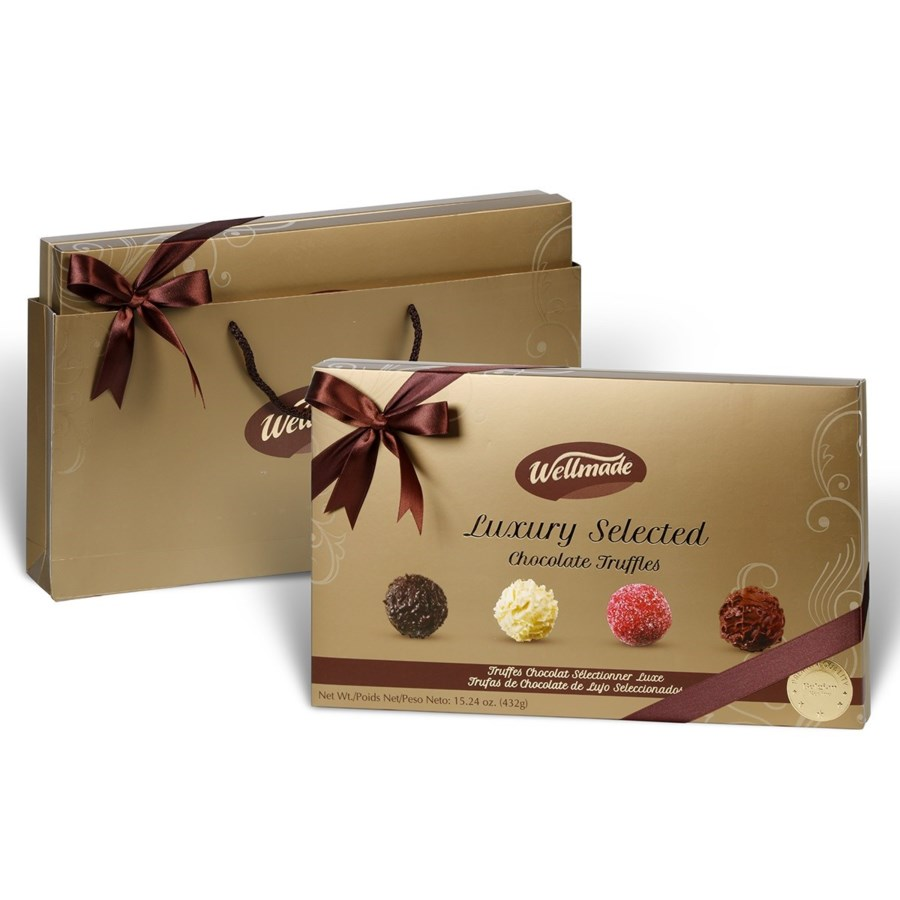 WELLMADE ASSORTED TRUFFLES CHOCOLATE 432g * 10