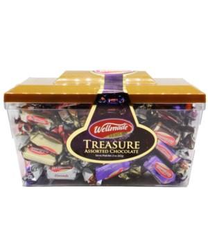 "Treasure Chocolate Box ""Wellmade""  652 g * 6"