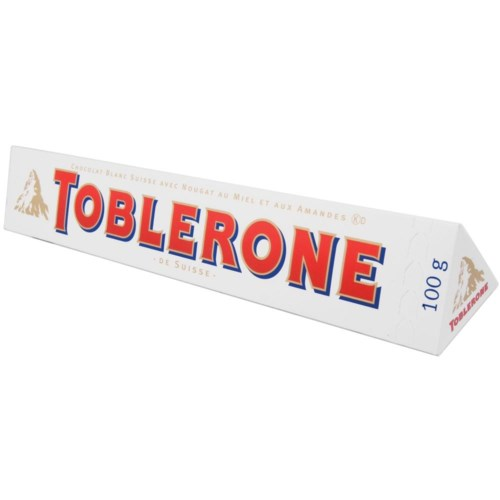 Toblerone WHITE 100 g x 20