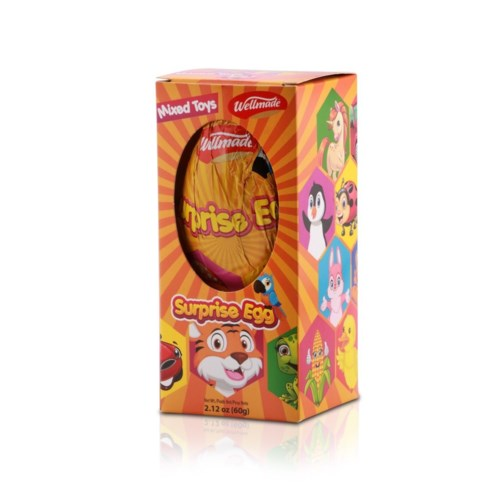 Girl Chocolate Egg WELLMADE 60g * 12