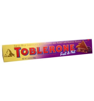 Toblerone (100 g 20 Cts.)  (Fruit&Nuts)
