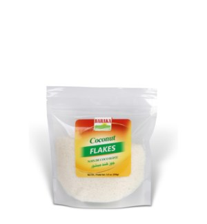 "Coconut Flakes in pouch 8 ""Baraka "" packed 186g *"