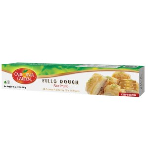 California Garden Frozen Filo Dough (#4)  1 Lb *