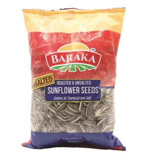 "Unsalted Sunflower Seeds ""BARAKA"" 300g * 25"