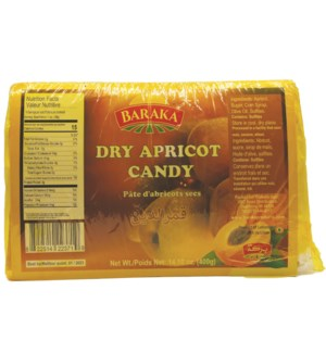 "Kamareddine Apricot Candies ""Baraka"" 400g x 25"