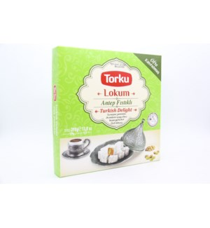 TORKU TURKISH DELIGHT WITH PISTACHIO (Antep Fistik