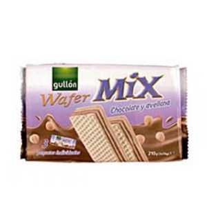 "Mix Wafers 3-pack Chocolate & Hazelnut cream ""Gull"