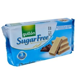 "Chocolate Sugar Free wafers ""Gullon"" 210g * 12"