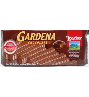 Loacker Gardena 200gx10 Chocolate
