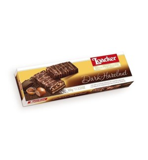 Loacker GP Patisserie 100gx12 DARK HAZELNUT