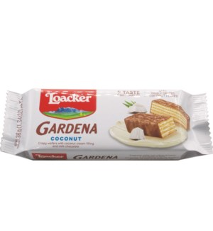 Loacker Gardena Coconut Wafer 38g x 25