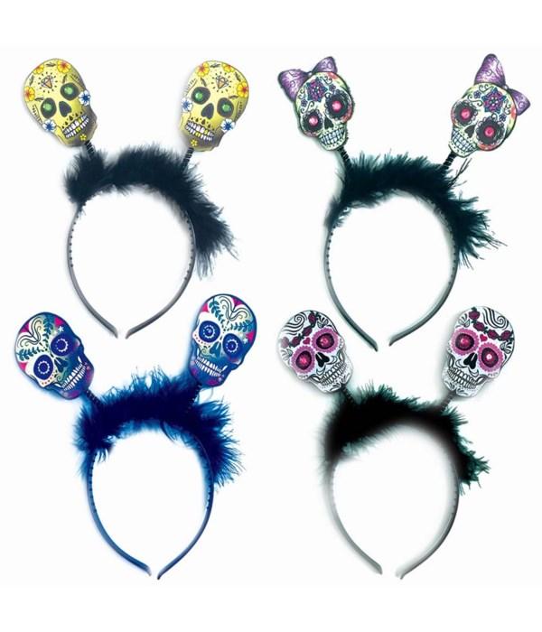 skull headband 12/144s