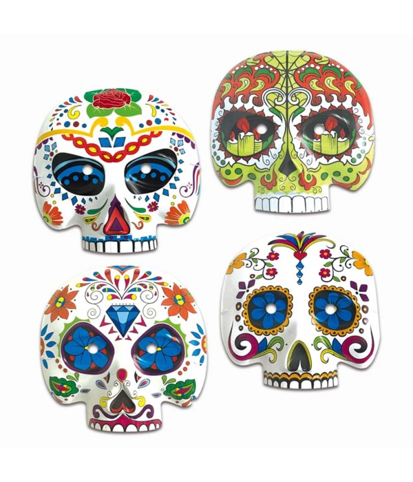 the day of dead half mask 72s