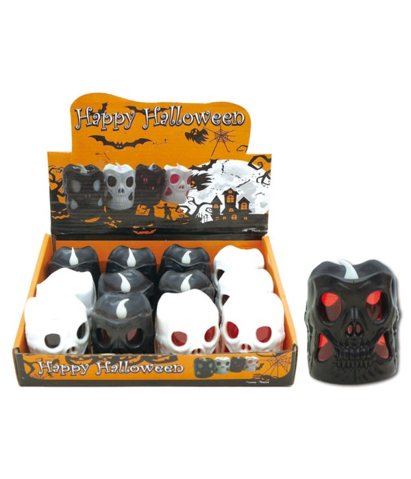 halloween LED candle 12/480s