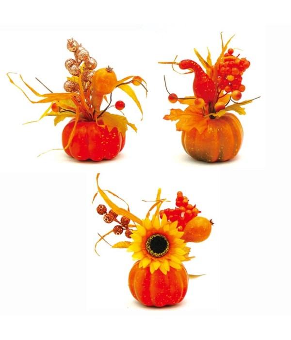 """6.5"""" thxgiving pumpkin 48/144s"""