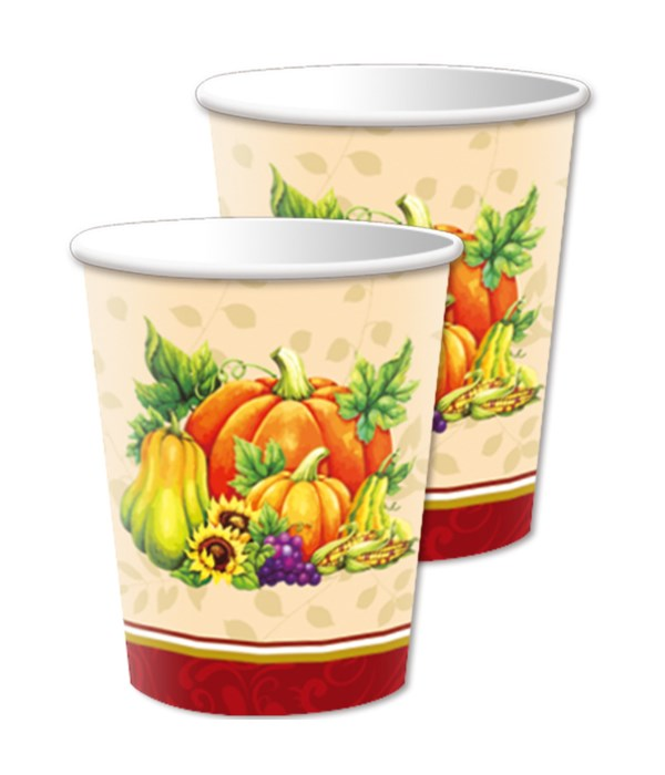 9oz/10ct thksgiving cup 24/144
