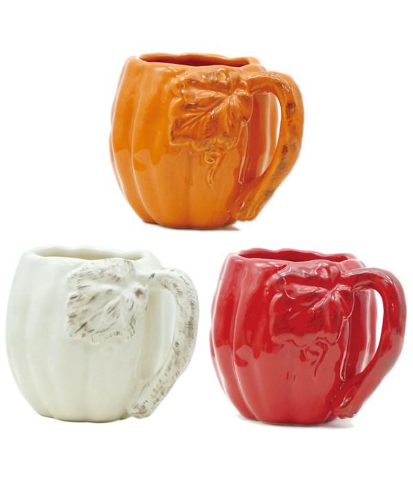 harvest mug astd clr 12/24s