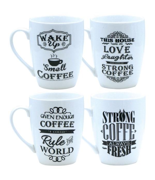 ceramic mug coffee 12oz/48s