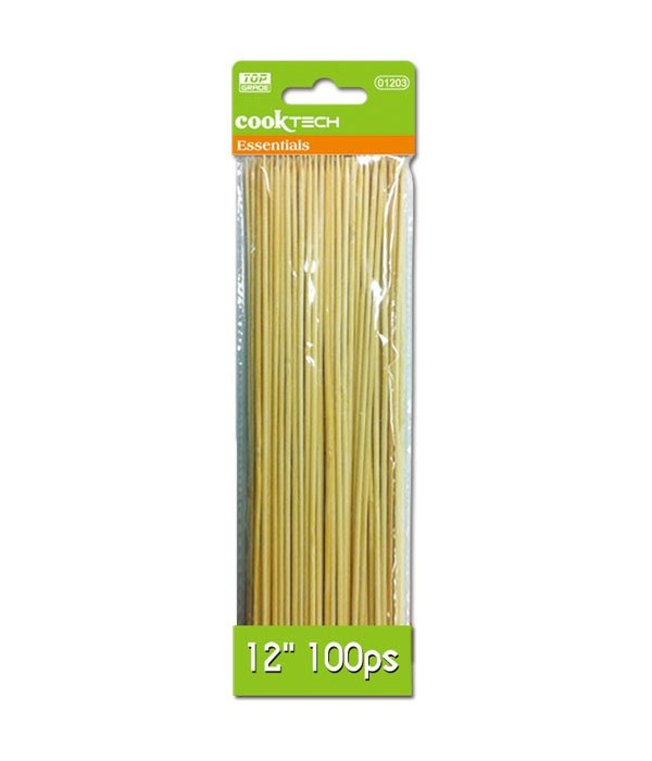 "12"" bamboo skewer 48s"
