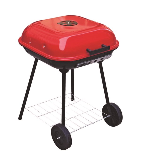 18.5 square grill w/lid 4s