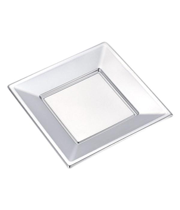 "7"" 6ct plastic plate/sq 36s"