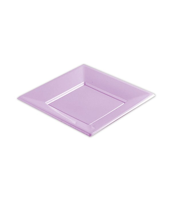 "7""/8ct plastic plate/sq 36s"