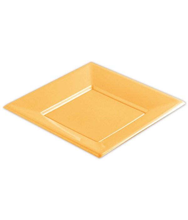 "9""/6ct plastic plate/sq 36s"