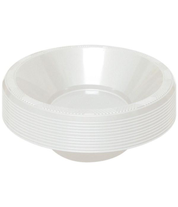 "7""/12ct bowl white 36s"