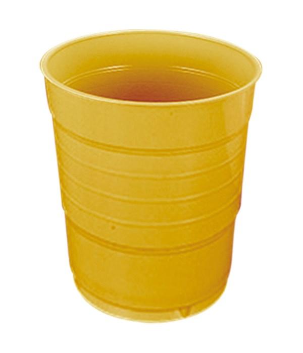 12oz/20ct pls cup gold 36s